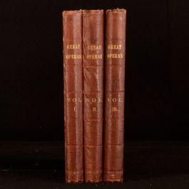 c1930 3vols Stories of the Great Operas and Their Composers Ernest Newman Music