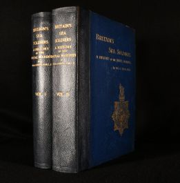 1924 Britain's Sea-Soldiers a History of the Royal Marines and Their Predecessors