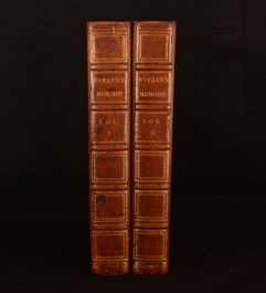 1819 2vol Memoirs Illustrative of The Life and Writings John Evelyn William Bray
