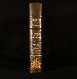 1927 Britain's Sea Soldiers. A Record of the Royal Marines During the War 1914-1919