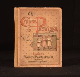 1891 The Child's Pictorial A Monthly Coloured Magazine Jan-Dec 1891