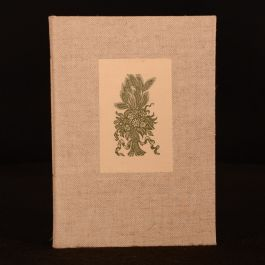 1983 A Posy of Wild Flowers Victor Bonham-Carter Signed Limited Edition Illustrated Poetry