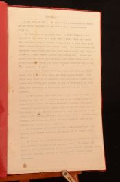 c1940 Fictional Memoir Novel Draft Early Stages WWI South African War Monmouthshire