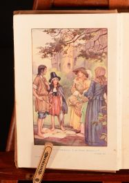 1924 The Girls of Gwynfa Elsie Oxenham Colour Frontispiece