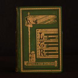 1876 Historic Warwickshire J. Tom Burgess Short Stories Illustrated Scarce