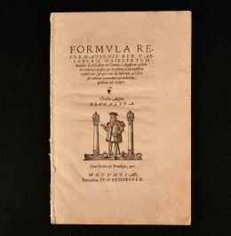 1548 Formula Reformationis per Caesaream Maiestatem