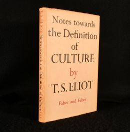 1948 Notes Toward the Definition of Culture