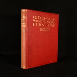 1923 Old English Walnut & Lacquer Furniture