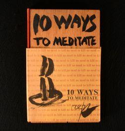 1969 No Need to Kill 10 Ways to Meditate