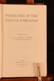 1909 Folklore of the Santal Parganas Cecil Henry Bompas 1st