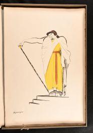 1906 La Comedie Francaise de Rouveyre Montesquiou