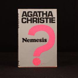 1971 Christie Nemesis Crime Club Marple Final Marple Novel 1st Reprint