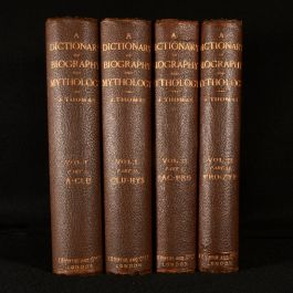 c1887 The Universal Dictionary of Biography and Mythology
