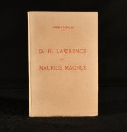 1924 D H Lawrence and Maurice Magnus A Plea for Better Manners