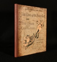 1889 Nonsense Drolleries The Owl & The Pussy-Cat The Duck & The Kangaroo