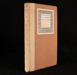 1923 The Loves of Clitophon and Leucippe