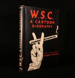 1955 W. S. C. A Cartoon Biography