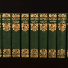 1924 8 vols in 12 Novels of the Sisters Bronte Thornton Edition Scott Illustrated