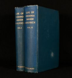 1884 The Life of Frederick Denison Maurice Chiefly Told in His Own Letters