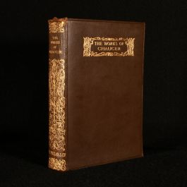 1928 The Works of Geoffrey Chaucer