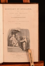 1834 - 1836 20vol The History of England David Hume Tobias Smollett T.S. Hughes Illus