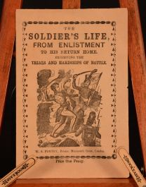 c1900 The Soldier's Life From Enlistment to His Return Home Very Scarce