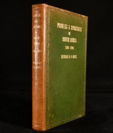1939 Pioneers and Sportsmen of South Africa 1760-1890