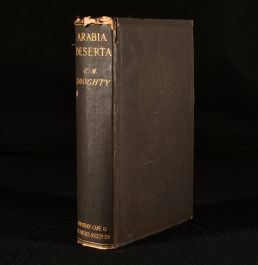1928 Travels in Arabia Deserta