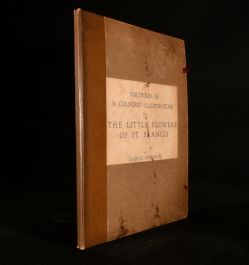 c1919 Portfolio of 30 Coloured Illustrations to the Little Flowers of St. Francis