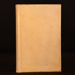 1929 Black Roses by Francis Brett Young Signed Limited Edition Vellum Port Lympne