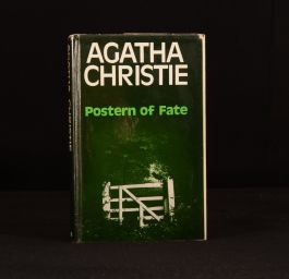 1973 Postern of Fate First Edition Agatha Christie Tommy Tuppence Beresford