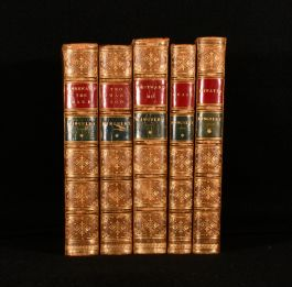 1874-5 Five Novels by Charles Kingsley