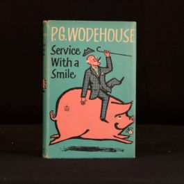 1962 Service with a Smile P G Wodehouse First U K Edition Blandings Novel Eight