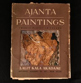 1956 Ajanta Paintings Twenty Plates in Colour