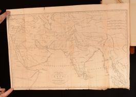 1791 The Knowledge Which The Ancients Had Of India Robertson Folding Maps