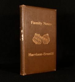 1897 Family Notes, Showing the Descendants of the Great-Grandfathers
