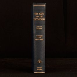 1965 The Rays and The Initiations Volume V Alice Bailey Esotericism Theosophy