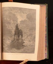 c1870 History of Don Quixote J W Clark Gustav Dore Illustrations M Cervantes