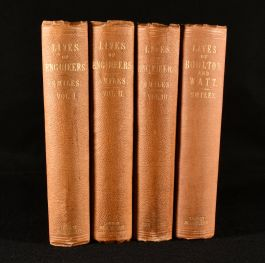 1861 Lives of the Engineers with Lives of Boulton and Watt