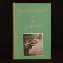 1935 The Dear Dogs Ada Galsworthy Author Inscription Illustrated