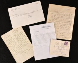 c1940 Bloomsbury Group Letters Leonard Woolf Vanessa Bell Duncan Grant Naomi Mitchison