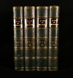 1841 Life and Campaigns of Arthur, Duke of Wellington