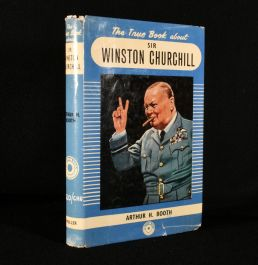1958 The True Book About Sir Winston Churchill