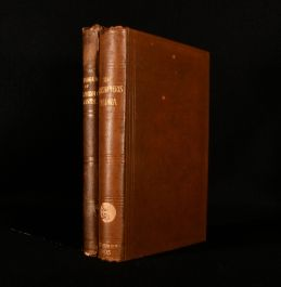 1886-1905 Catalogue of Palaezoic Plants and Glossopteris Flora