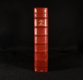 1640 The Workes of Benjamin Jonson Second Collected Edition