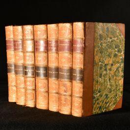 1873 7vol George Eliot's Novels