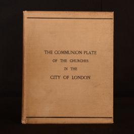 1894 The Communion Plate of the Churches In the City Edwin Freshfield Illus