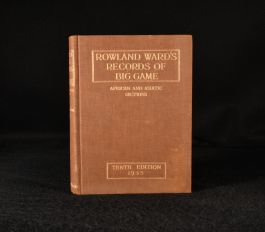 1935 Rowland Ward's Records of Big Game African and Asiatic Sections