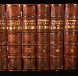 1862 Lettres de Madame de Sevigne de sa Famille et de Ses Amis