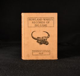 1914 Rowland Ward's Records of Big Game
